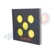 ELEVEN LARP TARGET 80 X 80 X 7 CM 5 HOLES 18CM